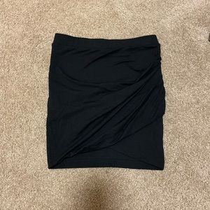 New Express Black stretch mini skirt